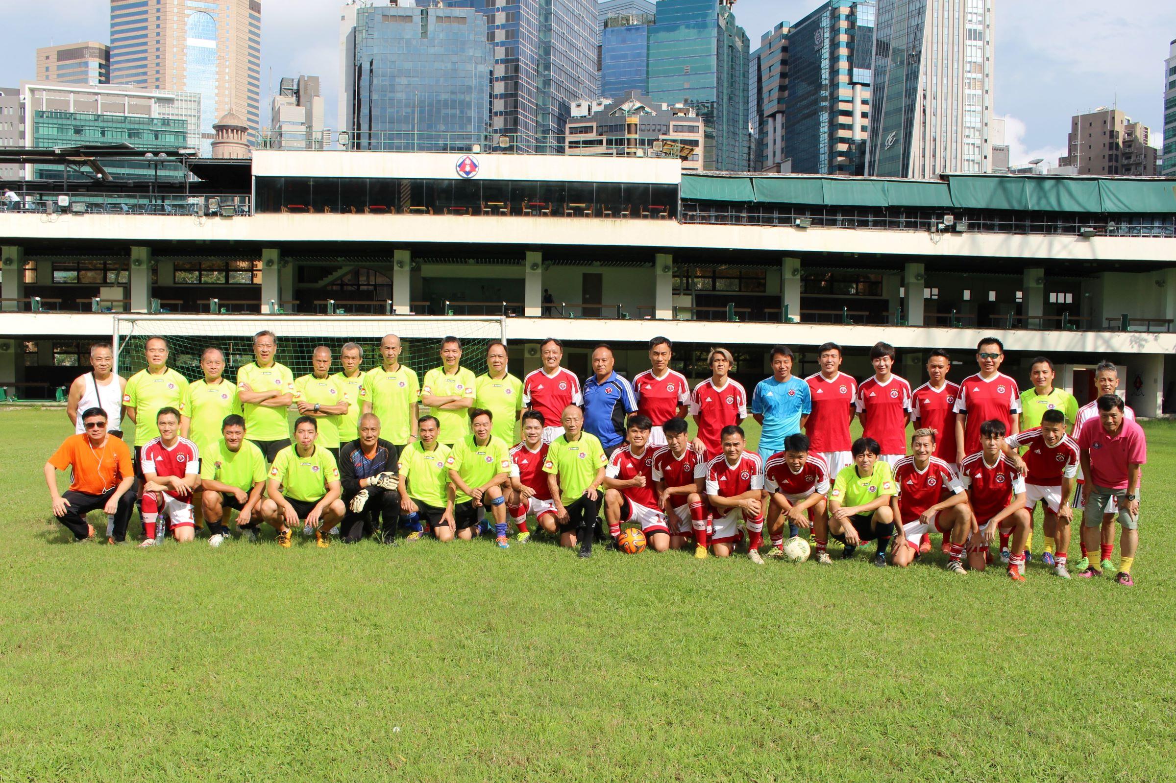 2017-09-10 球員會對南華執位友誼賽01